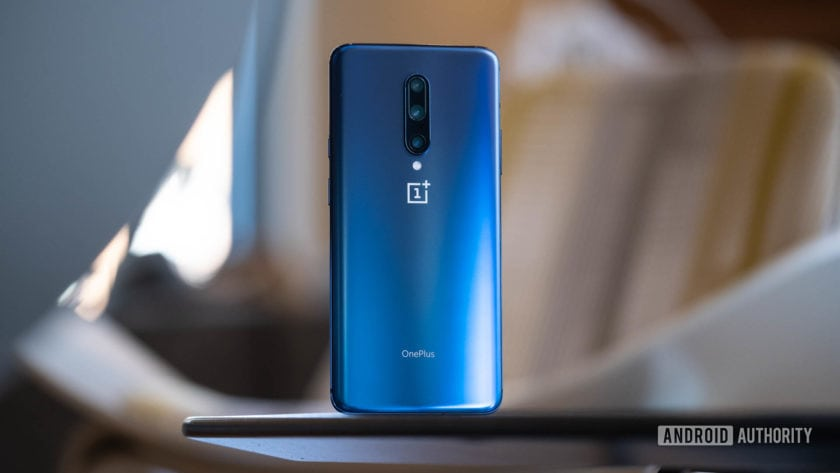 OnePlus 7 Pro back of phone at angle (2)