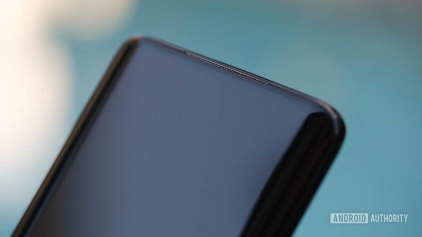 OnePlus 7 Pro speaker grill