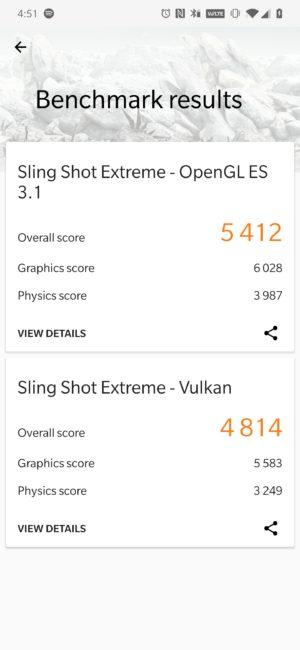 OnePlus 7 Pro 3DMark Score