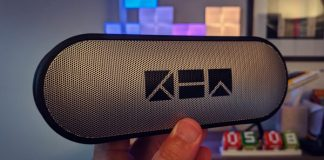 Kew Labs K1 bluetooth speaker review