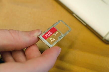 SanDisk's $450 microSD card adds 1TB more storage to your Surface Pro