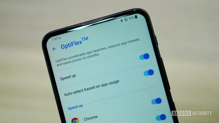 Asus Zenfone 6 OptiFlex settings