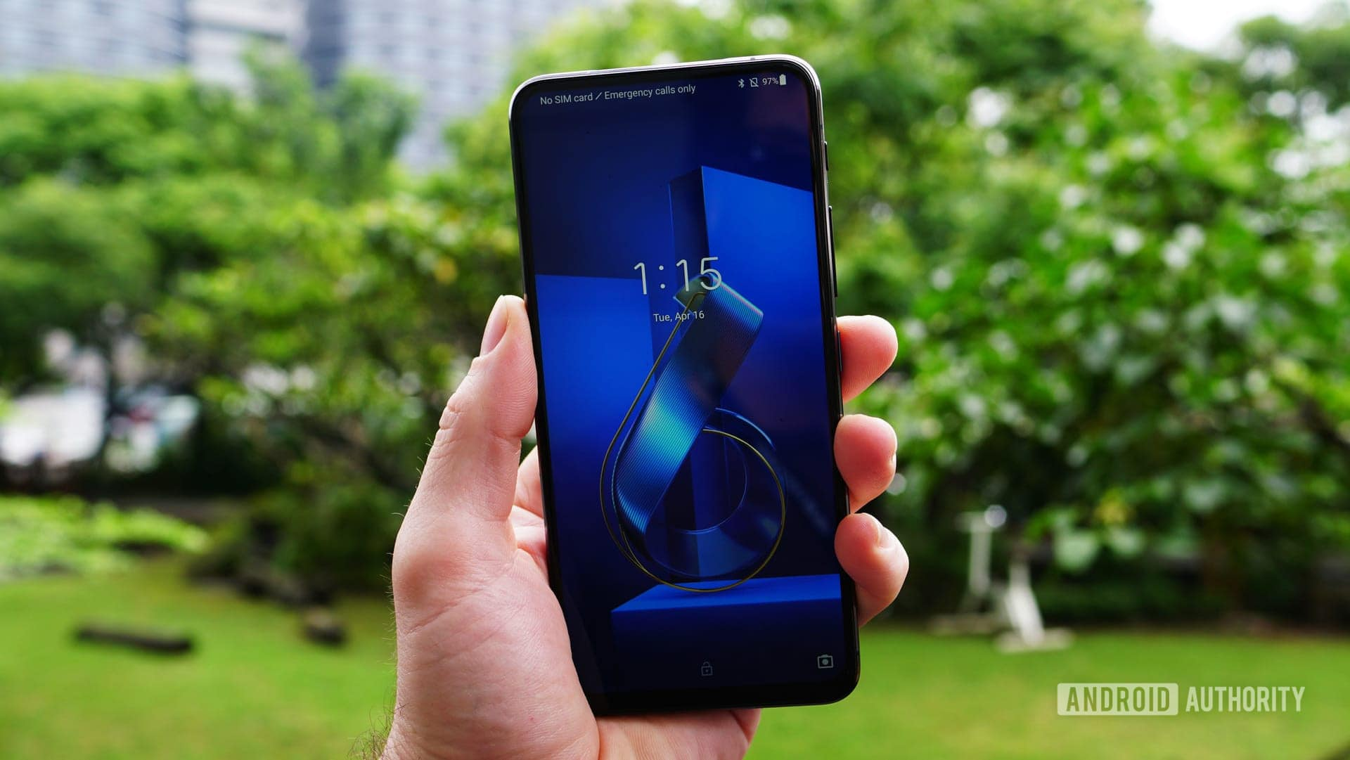 Asus Zenfone 6 lock screen