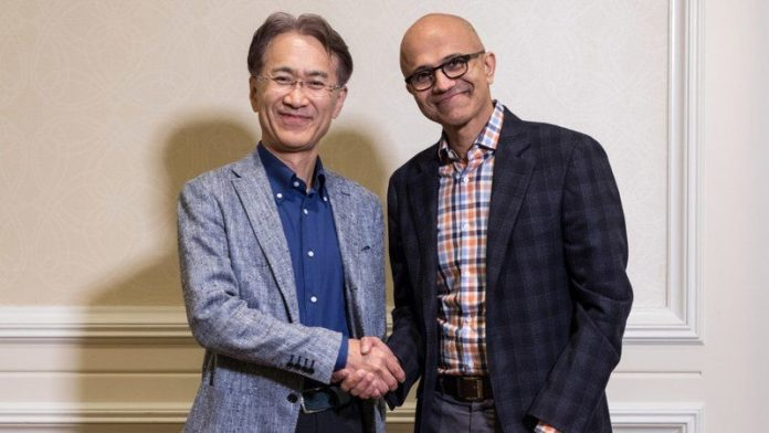 Microsoft and Sony partner for game streaming technology