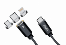 (Video) First look: Uno, the magnetic cross-device USB type C cable