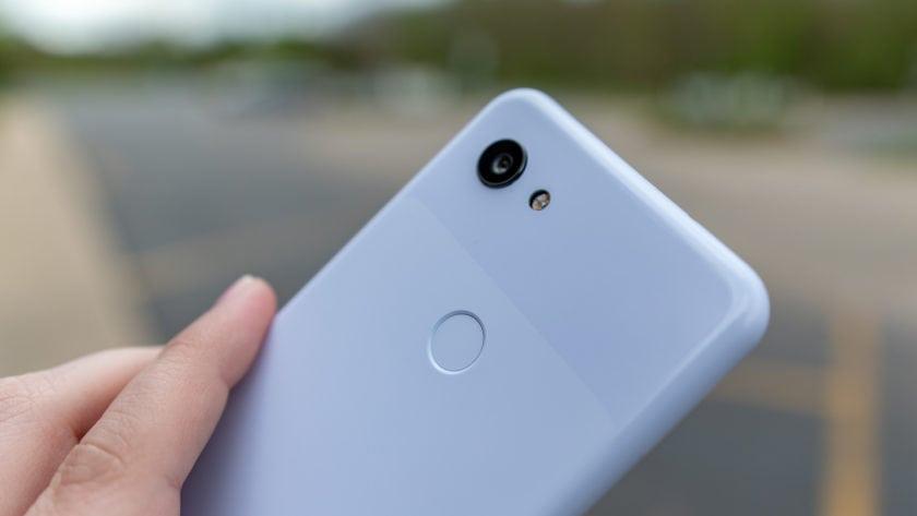 Google Pixel 3a Purple-ish Dual Tone Back