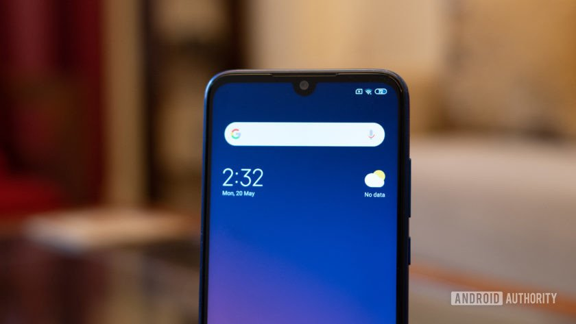Redmi Note 7S with dot notch