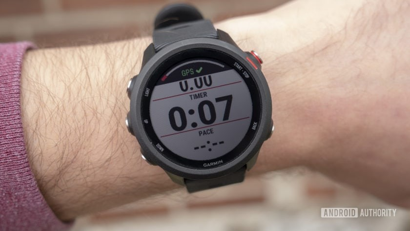 garmin forerunner 245 music running watch running screen gps