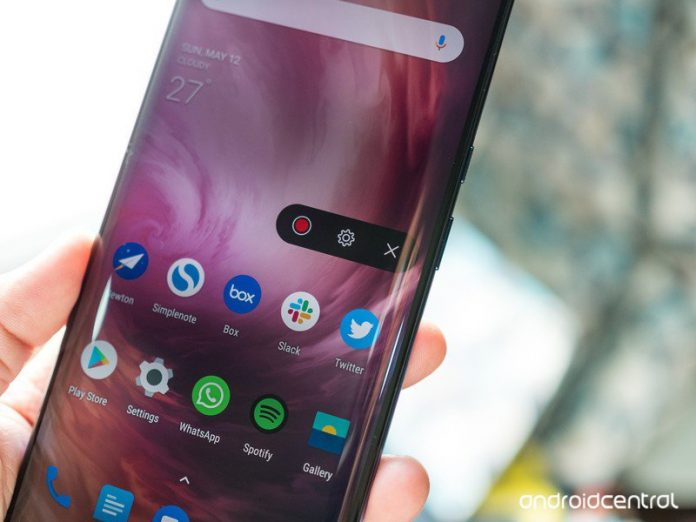 How to use the new screen recording mode in OxygenOS 9.5