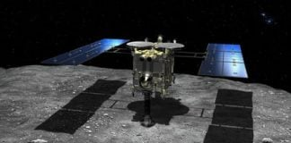 Japanese spacecraft Hayabusa 2 aborts marker drop mission
