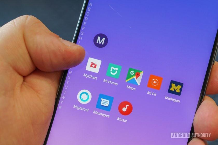Meizu 16s quick app launcher