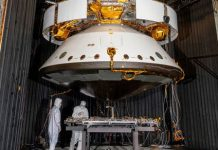 Mars 2020 spacecraft survives 8 days in a freezing cold vacuum chamber