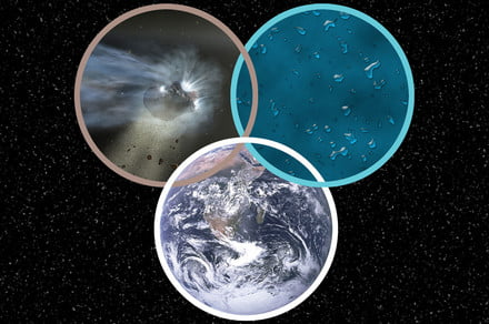 Water on Earth could have an interstellar origin, according to comet data