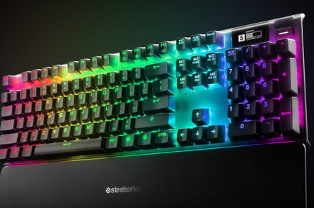 New SteelSeries mechanical keyboards are the first to have adjustable actuation