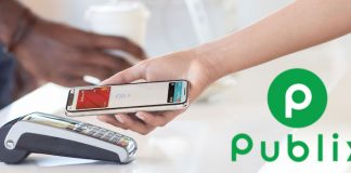 Supermarket Chain Publix Says It's Rolling Out Apple Pay Support All Stores