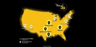 Sprint's 5G network launches in select markets