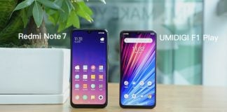 Comparing the UMIDIGI F1 Play to the Redmi Note 7