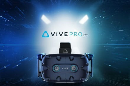 HTC's Vive Pro Eye, a $1,600 VR headset with eye-tracking, is all business