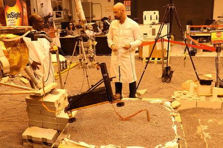 NASA scientists design rescue operation for InSight's heat-sensing mole