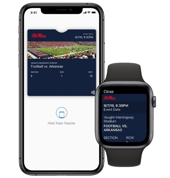 Contactless Ticket Support Coming to Apple Wallet for College Sports