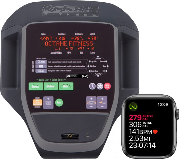 Octane Fitness Adds GymKit Support to Select Ellipticals, Enabling Two-Way Data Sharing With Apple Watch