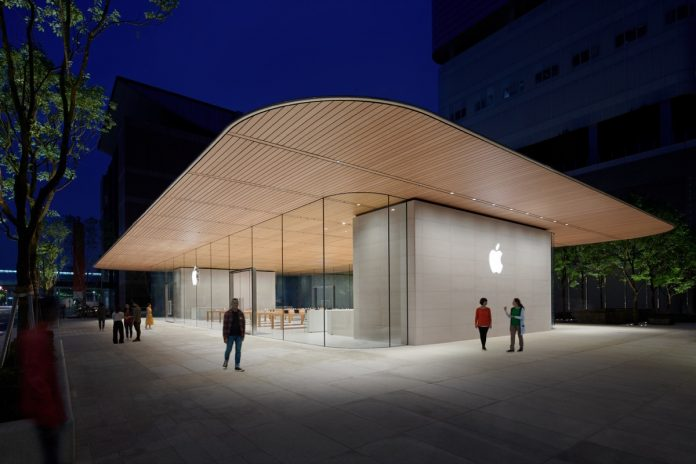 Apple Xinyi A13 Taipei Store Previewed Ahead of Official Opening This Saturday