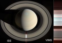 The grainy texture of Saturn's rings reveals clues to their origins