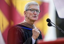 Tim Cook Talks Privacy, Steve Jobs, and the 'Difference Between Preparation and Readiness' in Stanford Commencement Address
