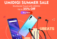 UMIDIGI slashes prices on phones, uBeats headphones for one week