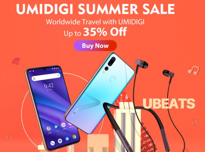 UMIDIGI slashes prices on phones, uBeats headphones for one week