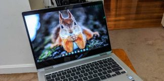 The HP Chromebook X360 G1 is the fastest Chromebook we've ever tested