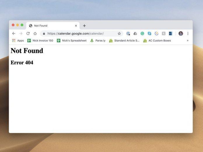 Google Calendar is coming back online