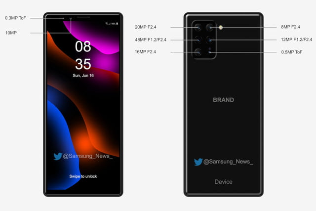 sony rumored to be making a six lens xperia phone unnamed 6