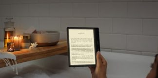 Amazon adds a color-changing, eye-saving screen to the high-end Kindle Oasis