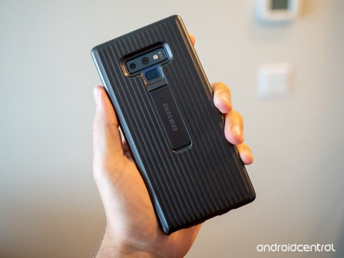 What case are you using for the Galaxy Note 9?