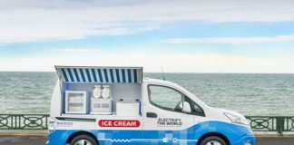 Nissan's high-tech ice cream truck removes the fumes from your order