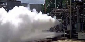 Blue Origin test fires the engine that could help it land on the moon