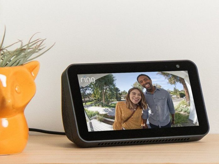 Amazon Echo Show 5 works with Ring devices