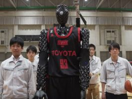 Swish! Toyota's basketball bot earns a Guinness record with 2,020 perfect throws