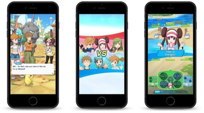 Pokémon Masters for iOS Launching Later This Summer, Will Feature Real-Time Battles