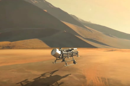 NASA's eight-rotor Dragonfly drone is heading to Saturn's largest moon