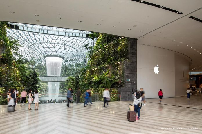 Apple to Open Second Singapore Store at Jewel Changi Airport on July 13