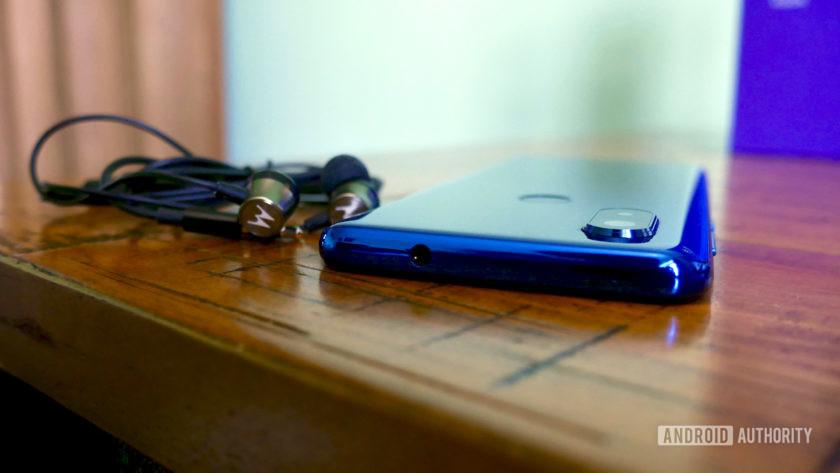Motorola One Vision audio