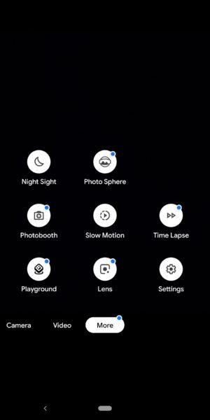 Google Pixel 3a XL Camera Review Camera app modes