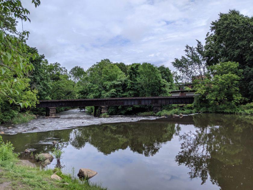 Google Pixel 3a XL Camera Review Landscape river bridge