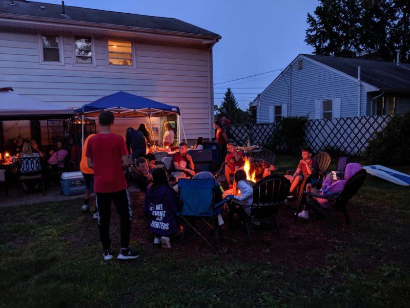 Google Pixel 3a XL Camera Review HDR backyard party