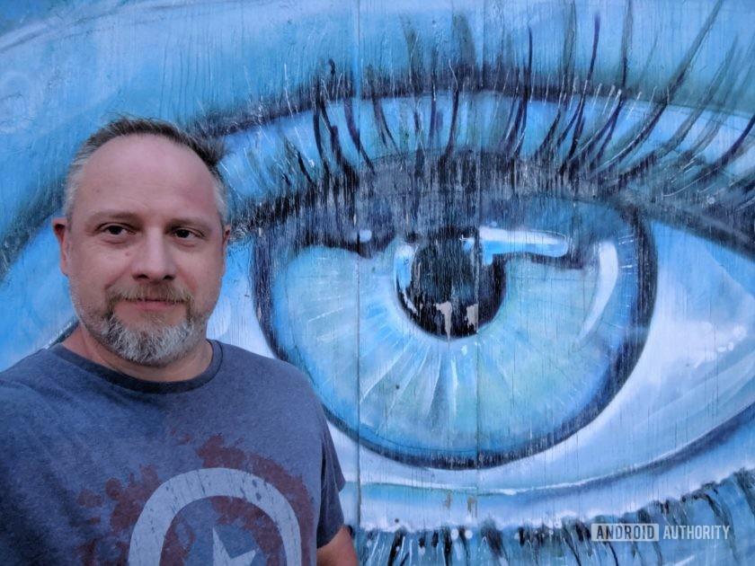 Google Pixel 3a XL Camera Review Selfie eye