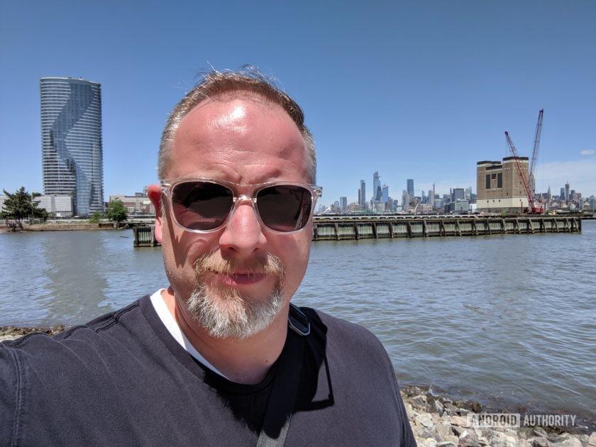 Google Pixel 3a XL Camera Review Selfie shoreline