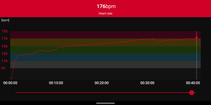 polar h10 heart rate stats