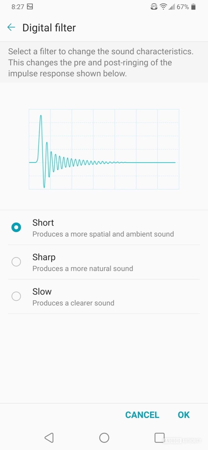 LG V50 ThinQ Review audio filtering
